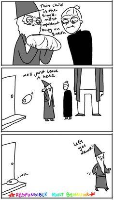 How Harry Potter began
