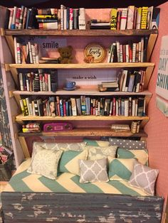 OOAK Handmade Reading Nook for Barbie by me, ShairaStar
