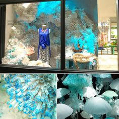 Amazing ocean window displays..couldn't really use but I like it :)