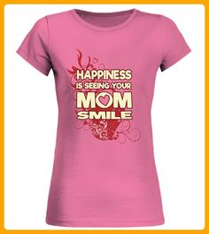 MOM SMILE Happiness Muttertag TShirt - Muttertag shirts (*Partner-Link)