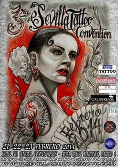 3ª Sevilla Tattoo Convention | Tattoo Filter. Tattoo Filter is a tattoo community, tattoo gallery and International tattoo artist, studio and event directory.