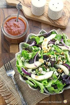 Pear-and-Walnut-Salad-with-Cranberry-Viniagrette-32