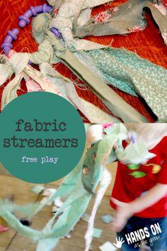 Fabric streamers free play!