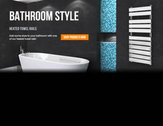 Add some style to your bathroom...