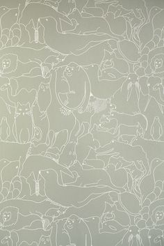 Zoology Wallpaper by Turner Pocock Cazalet
