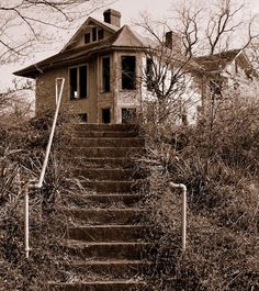 Abandoned on Haunted Hill. In Cincinatti,Ohio.
