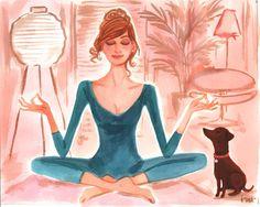 meditation / yoga cool stuff I'm working on incorporating into my life!