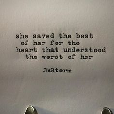 Best #jmstorm #jmstormquotes #poetry #instagood #quotes #quoteoftheday #poem #poetic #poetsofinstagram #writingcommunity #poetrycommunity #writersofinstagram #instaquote #instaquotes #poetsofig #igwriters #igpoets #lovequotes #wordporn #spilledink #prose #wordplay #igpoems #typewriterpoetry #typewriter
