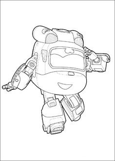 8 super wings printable coloring pages for kids find on coloring book thousands of coloring pages - Sprout Super Wings Coloring Pages
