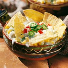 Monterey Tortilla Casseroles In Mexico, this dish is served for breakfast; stateside, families enjoy it as a quick and tasty dinner, too. Follow the make-ahead directions and heat the frozen casserole in a microwave for a meal that's ready in minutes.