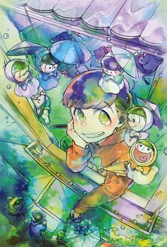 Find images and videos about osomatsu-san and osomatsu on We Heart It - the app to get lost in what you love. All Anime, Me Me Me Anime, Anime Art, Handsome Anime Guys, Kawaii, Ichimatsu, Otaku, Manga Pictures, Artist Names