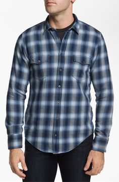 BOSS Orange 'Eddaie' Plaid Flannel Shirt | Nordstrom #NSale Flannel Shirt Outfit, Plaid Flannel, Flannel Shirts, Mens Garb, Nordstrom Half Yearly Sale, Men Closet, Boss Orange, Suit And Tie, Classy Dress