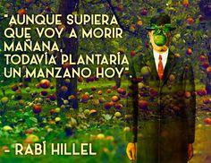 #RabinoHillel #Quotes #JewishWisdom #SabiduriaJudia www.enlacejudio.com