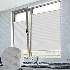 Shiny Home 174 Jalousien Plissee Mit Gardinenstange