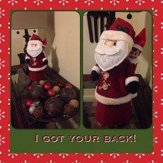 Buddy has Santa's back!