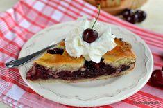 Tartă cu cireșe sau vișine rețeta de cherry pie în stil american   Savori Urbane