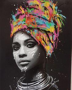 Seaty Artwork African Woman Graffiti Canvas Art Print Pop Art Seaty Artwork African Woman Graffiti Canvas Art Print Pop Art Petra B. pbolender Faces of this world Graffiti Alley Print […] Graffiti Canvas Art, Graffiti Painting, Street Art Graffiti, Canvas Art Prints, Wall Prints, Painting Canvas, Black Art Painting, Pop Art Prints, Graffiti Bedroom