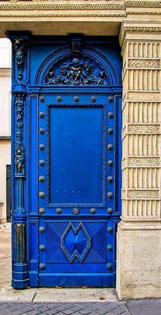 Paris, France...by J Pruett                                                                                                                                                      More | Blue door