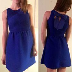 Blue Bow Candies Dress Size XS Blue Bow Candies Dress Candie's Dresses