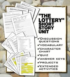 am lit crucible and lottery similarities In the lottery the community uses a random system of selection, implying that fate chooses their victim, justifying their murder the community of the the crucible begins with the poor, women, and minorities, as they work their way up the chain of potentially subversive characters.