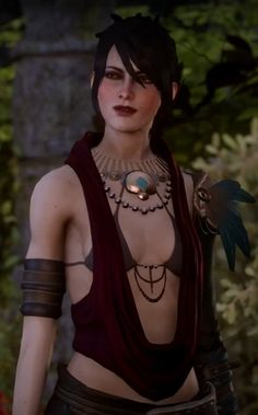 Morrigan - Dragon Age Inquisition |  She looks so pretty in Inquisition. :)