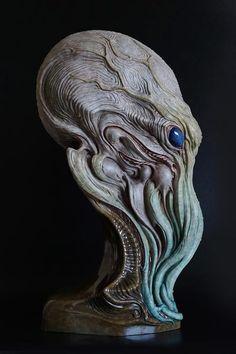 Cthulhu - Dominic Qwek Art