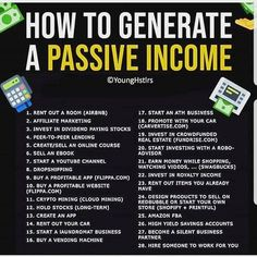 Passive income – - Topic Money - Economics, Personal Finance and Business Diary Atm Business, Business Money, Business Ideas, Online Business, Vie Motivation, Business Motivation, Motivation Success, John D. Rockefeller, Money Tips