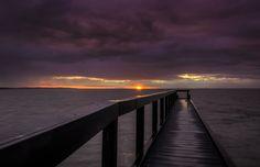 Purple Sunset, Lake Albert, Meningie