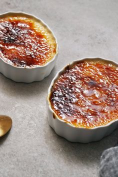 NYT Cooking: A splash of bourbon and a generous grating of fresh nutmeg transform this simple custard into a holiday sensation. Make the custard in advance, but wait to caramelize the topping about 10 minutes before serving. The sugar will not hold its signature crunch if subjected to much extra time in a humid refrigerator. While it may be a single-use gadget, a kitchen torch is%2...