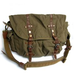 Messenger Bag/Casual cloth bag/Men and women by Commandery on Etsy, $59.90