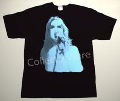 GENESIS Peter Gabriel drawing 12 CUSTOM ART UNIQUE T-SHIRT  Each T-shirt is individually hand-painted, a true and unique work of art indeed!  To order this, or design your own custom T-shirt, please contact us at info@collectorware.com, or visit  http://www.collectorware.com/tees-genesis_andrelated.htm