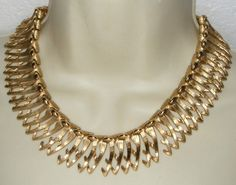 SOLD ~ Monet Cleopatra Collar Necklace