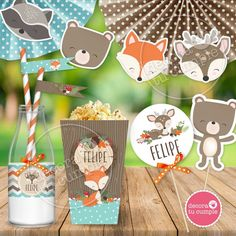 23 Clever DIY Christmas Decoration Ideas By Crafty Panda Christmas Decorations To Make, Christmas Crafts, Baby Shawer, Woodland Party, Wild Ones, Woodland Animals, Clever Diy, Little Babies, First Birthdays