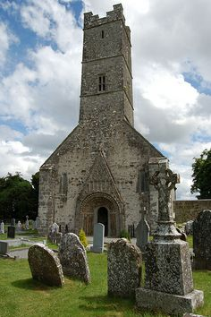 St Brendan's Cathedral at Clonfert