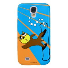 Snowboard Brown Dog Blue Speck iPhone 3 Case