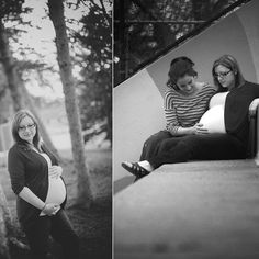 Samantha Meyer photography. Intended mom and gestational carrier.