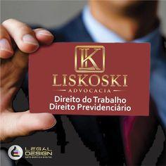 Liskoski Advogados / Criação de Logo