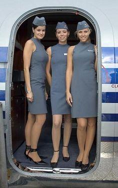 Lovely flight attendants