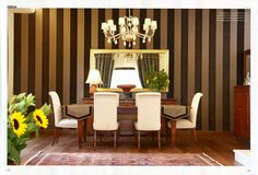 dining room - τραπεζαρία Dining Room, Curtains, News, Home Decor, Blinds, Decoration Home, Room Decor, Dining Room Sets, Draping