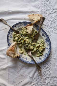 From My Dining Table by Skye McAlpine | Orecchiette Broccoli Ricotta