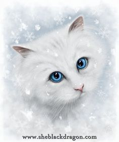 Winter Cat (alternate design) - Available for special licenses