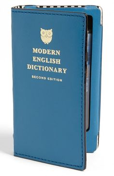 kate spade new york 'phone book dictionary' iPhone 5 & 5S case available at #Nordstrom