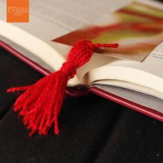 Bonfire  Handpainted Bookmark