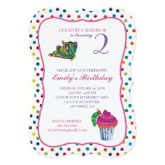 120 best butterfly birthday invitations images on pinterest the very hungry caterpillar butterfly birthday invitation stopboris Image collections