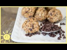 MEG | Energy Balls, No Bake! - YouTube