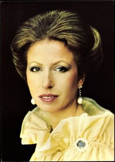 Princess Anne - only daughter of Queen Elizabeth & Prince Phillip
