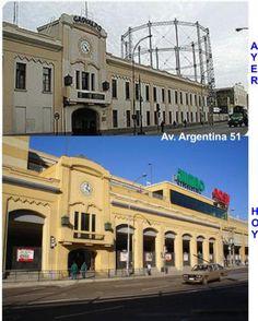 Gasometro y actual Portal Valparaíso   --- Pinceladaspuerto-fotolog  (Foto.MarioOrtega P)
