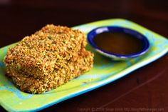 Pistachio Crusted Tofu Recipe on Yummly