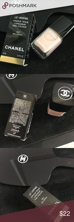 Chanel Le Vernis Nail Polish Brand New. Never used or opened. Color  Ballerina. 100% authentic. No Trades. CHANEL Makeup