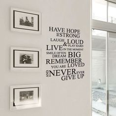 Make your home unique with one of the latest trends -- Wall Decals. With Wall Decals, you can transfer your home in seconds, and they just